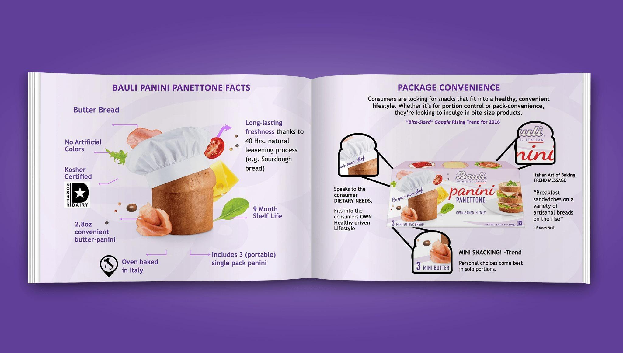 Product Launch Panini Panettone