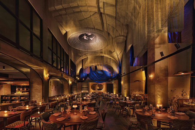 Cathédrale restaurant at the Moxy NYC East Village